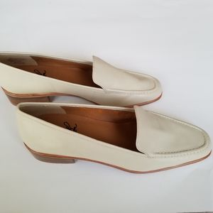 Selby Moc Fit Handcrafted Cream Loafers 10